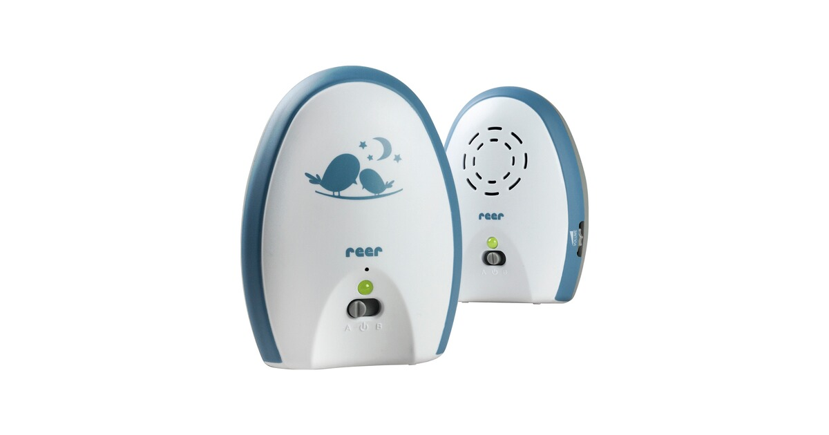 reer babyphone neo 200 mit analoger 2 kanaltechnik 200 m online kaufen baby walz. Black Bedroom Furniture Sets. Home Design Ideas