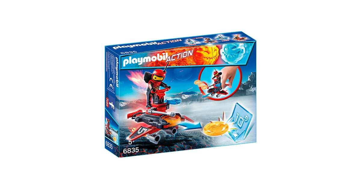 Firebot mit Disc-Shooter Playmobil Playmobil 6835