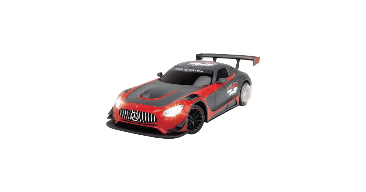 dickie toys ferngesteuertes rc rennauto mercedes amg gt3. Black Bedroom Furniture Sets. Home Design Ideas