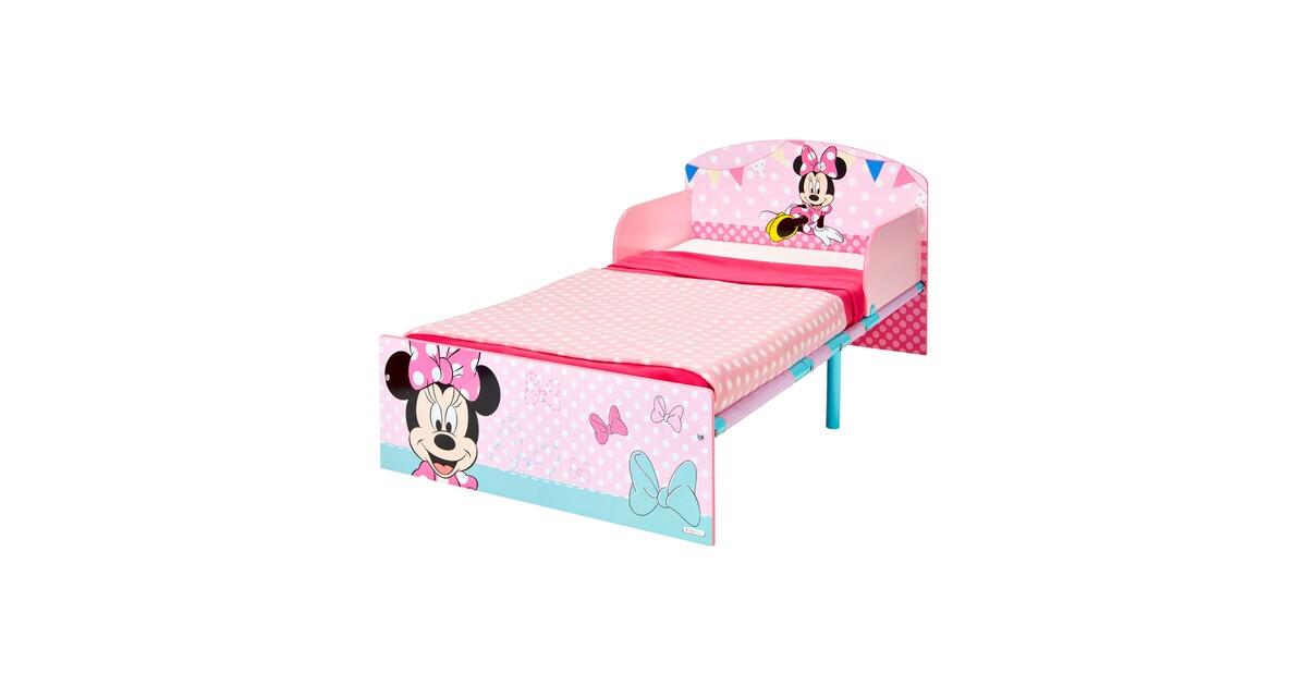 Kinderbett Minnie 70 x 140 cm NEU mehrfarbig