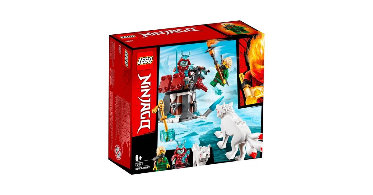 NINJAGO® LEGO 70671 Angriff des Eis-Samurai