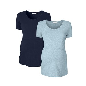 2heartsWE LOVE BASICS2er-Pack Umstands- und Still-T-Shirt 1