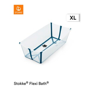 Stokke® FLEXIBATH Badewanne XL  transparent blue