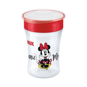 NUK DISNEY BABY Trinklernbecher Magic Cup 230 ml  rot