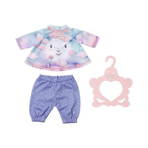 Zapf Creation BABY ANNABELL Puppen Outfit Nachthemd Sweet Dreams 43cm