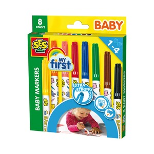 SES my first Baby Marker 8 Farben