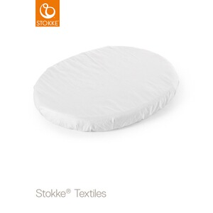 Stokke® SLEEPI™ Spannbetttuch Sleepi Mini  white