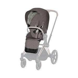 Cybex PLATINUM Sitzpaket Plus für PRIAM, e-PRIAM  manhattan grey