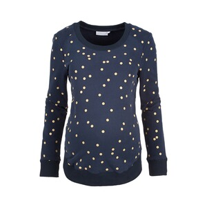 2heartsWE LOVE BASICSUmstands-Pullover Golden Dots 1