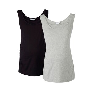 2hearts WE LOVE BASICS 2er-Pack Umstands- und Still-Top