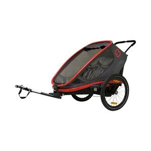 Hamax Traveller Fahrradanhänger Zweisitzer für 2 Kinder | eBay