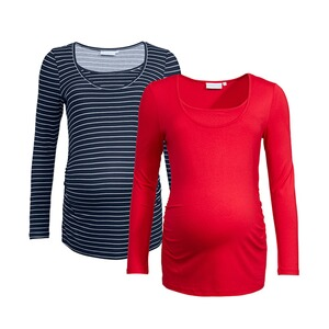 2heartsWE LOVE BASICS2er-Pack Umstands- und Still-Shirt 1