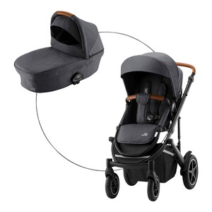 Britax Römer PREMIUM Smile III Essential Bundle Kombikinderwagen  midnight grey
