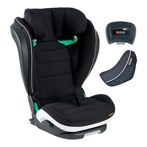 BeSafe  iZi Flex FIX i-Size Kindersitz  fresh black cab