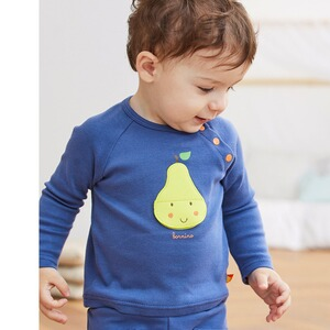Bornino Lovely Fruits Raglanshirt langarm Birne