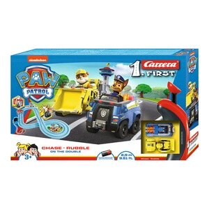 Carrera PAW PATROL Auto-Rennbahn Carrera First - On the Double