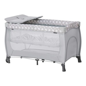 Hauck  Reisebett Sleep N Play Center  Nordic Grey