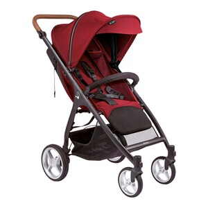 Smiloo  Happy + Buggy mit Liegefunktion  maroon