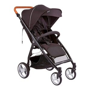 Smiloo  Happy + Buggy mit Liegefunktion  black