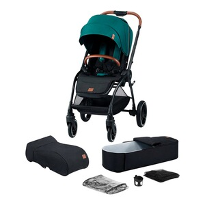 Kinderkraft  Evolution Cocoon Kombikinderwagen  green