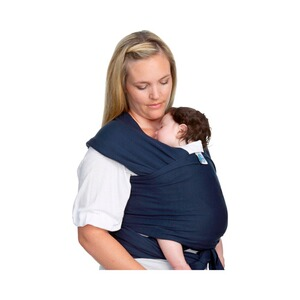 MOBY WRAP  Babytragetuch Moby Wrap Classic  navy