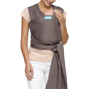 MOBY WRAP  Babytragetuch Moby Wrap Classic  slate/black