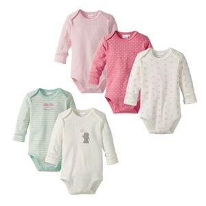 Bornino BASICS 5er-Pack Bodys langarm