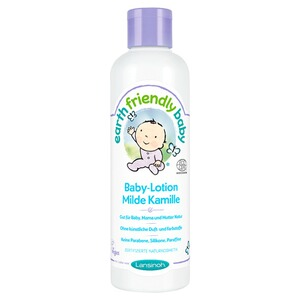 LANSINOH EARTH FRIENDLY BABY Körperlotion Milde Kamille 250 ml