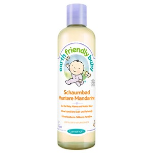 LANSINOH EARTH FRIENDLY BABY Schaumbad Muntere Mandarine 300 ml