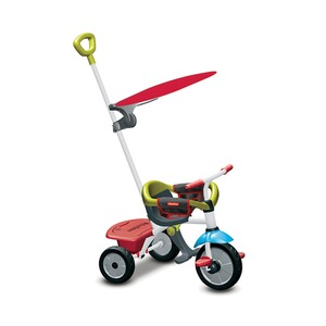 FISHER PRICE  Dreirad Jolly Plus 3 in 1  rot/grün
