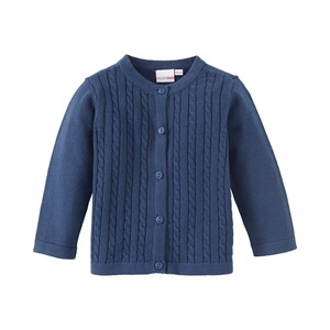 BORNINO STRICK Strickjacke  marine