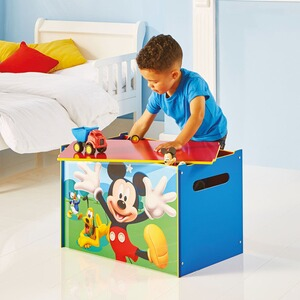WORLDSAPART DISNEY MICKEY MOUSE & FRIENDS Kindertruhenbank