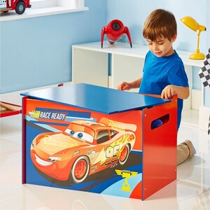 Worlds Apart DISNEY CARS 3 Kindertruhenbank