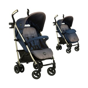 ICOO  Pace Buggy mit Liegefunktion  dressblue