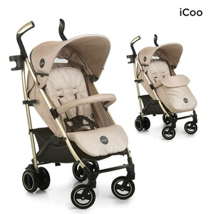 ICOO  Pace Buggy mit Liegefunktion  sahara