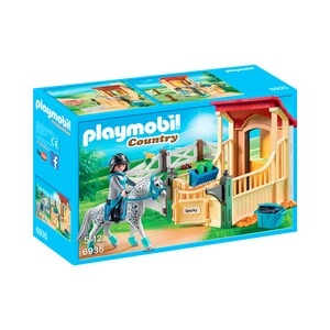 PLAYMOBIL® COUNTRY 6935 Pferdebox Appaloosa