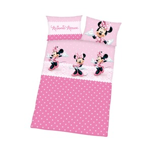 HERDING MINNIE MOUSE Bettwäsche Minnie Mouse 40x60 / 100x135 cm