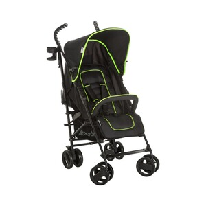 Hauck  Speed Plus S Buggy mit Liegefunktion  caviar/neon yellow