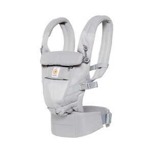 ERGOBABY® ADAPT Cool Air Mesh Babytrage, 3 Tragepositionen  Pearl Grey