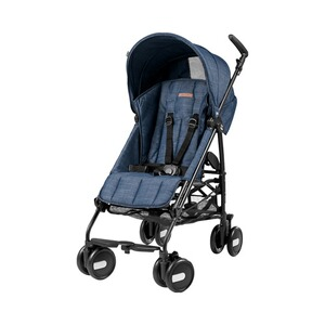 PEG-PÉREGO  Pliko Mini Buggy mit Liegefunktion  Urban Denim
