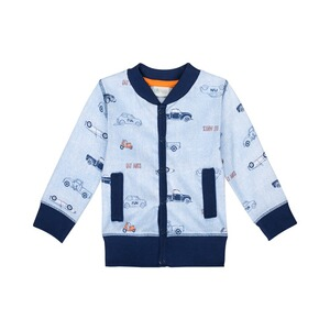 SANETTA EAT ANTS Sweatjacke Autos