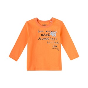 SANETTA EAT ANTS Shirt langarm Bon Voyage  orange