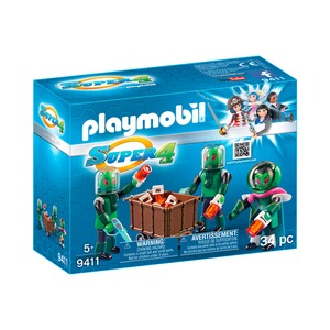 PLAYMOBIL® SUPER 4 9411 Sykronier