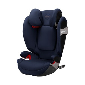 CYBEX GOLD Solution S-Fix Kindersitz  Denim Blue