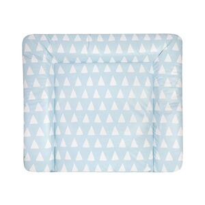 ZÖLLNER  Wickelauflage Softy 75x85 cm  Triangel blue