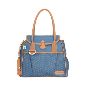 BABYMOOV  Wickeltasche Style Bag  blue navy