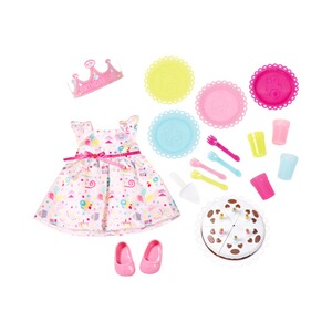 Zapf Creation BABY BORN Puppen Outfit Deluxe Party Set