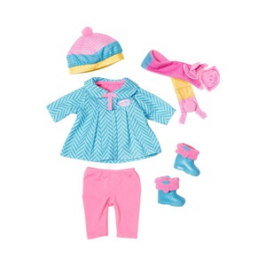 ZAPF BABY BORN Puppen Outfit Deluxe Kalte Tage