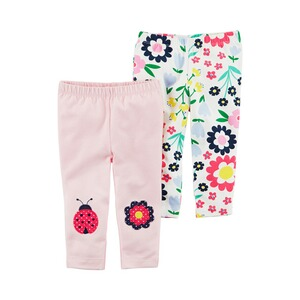 CARTER´S  2er-Pack Leggings Marienkäfer Blumen