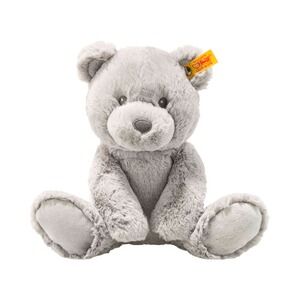 STEIFF  Teddybär Bearzy Soft Cuddly Friends 28cm  grau
